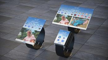 Tabletté szétnyíló okosórát szabadalmaztatott az IBM