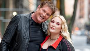 David Hasselhoff lánya plus size sportruházat reklámarca lett