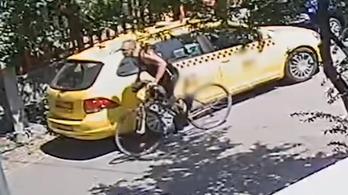 Betörte egy taxi ablakát, ellopott egy napszemüveget, de felvette a térfigyelő
