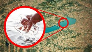 Egy pohár víz a Balatonból: mi bajod lenne, ha meginnád?