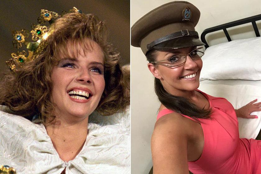 Bálint Antónia az 1991-es Miss Universe szépségkirálynőjeként és napjainkban. Még ma is gyönyörű.