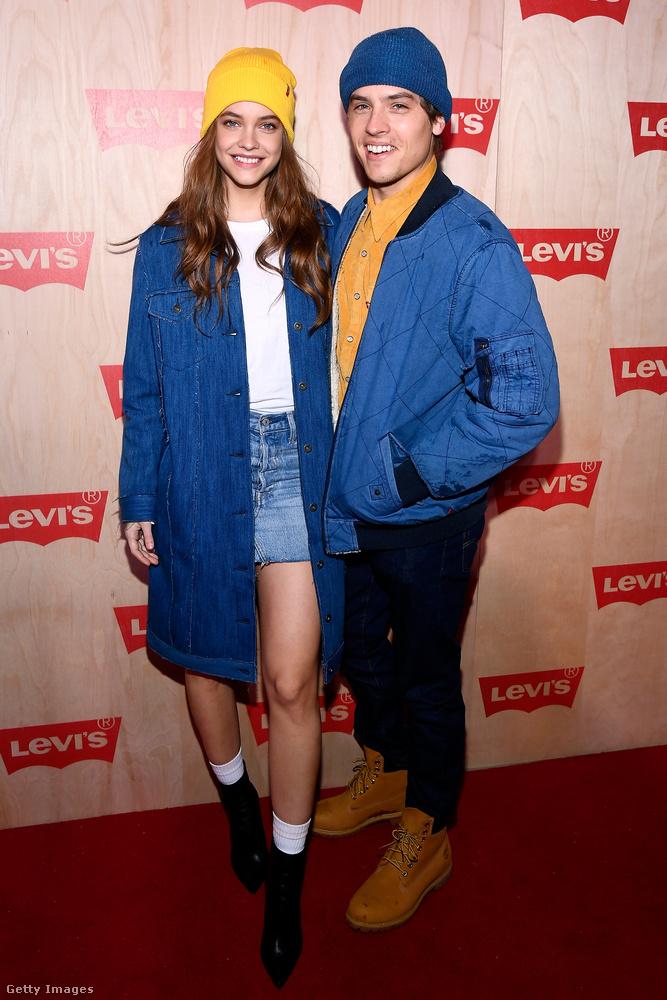 Novemberben a Levi's eseményén meg mindketten kék-sárgában voltak