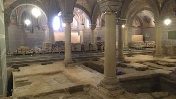 Orseolo Péter eredeti sírhelyét tárhatták fel a pécsi székesegyházban
