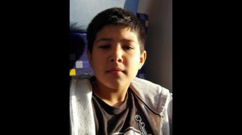 A rendőrség eltűnés miatt keresi a 10 éves Kozák Armandót