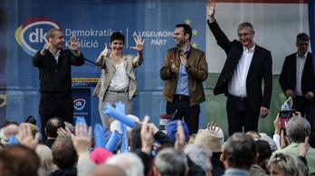 Medián: Tartós a Momentum és a DK erősödése