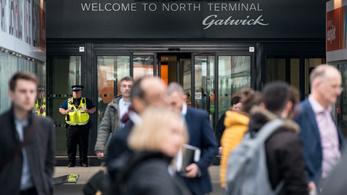 Egy időre leállt a londoni Gatwick repülőtér
