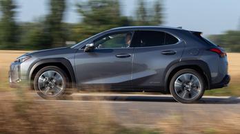 Teszt: Lexus UX 250h - 2019.