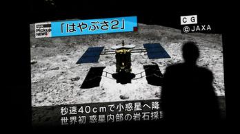 Újra landolt a Hajabusza-2 a Ryugu kisbolygón
