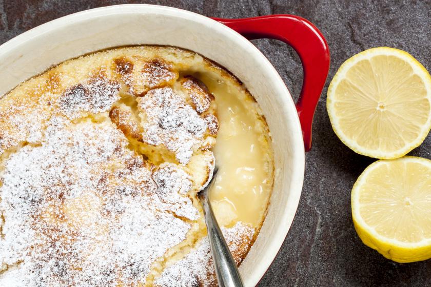 Álomfinom sült citrompuding: kívül ropogós, belül krémes