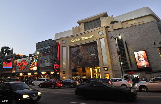 A Kodak (nemsokára Dolby) Színház Los Angeles belvárosában