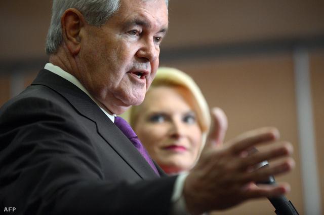 Newt Gingrich volt házelnök szerdán hivatalosan is felfüggesztette elnökjelölti kampányát