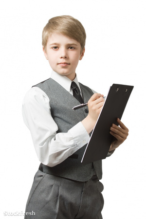 stockfresh 1611340 schoolboy-with-clipboard sizeM