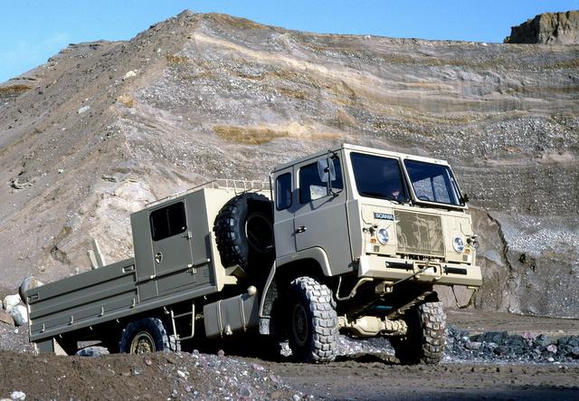 Scania SBAT111 6x6.