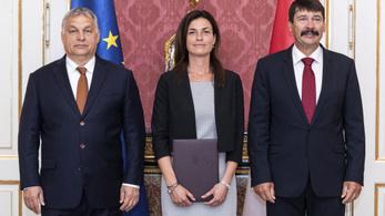 Kinevezték Magyarország második női igazságügyi miniszterét