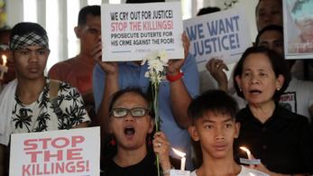 Magyarország nem támogatja, hogy a Fülöp-szigeteki drogellenes háborúban megölt ezrek halálát kivizsgálják