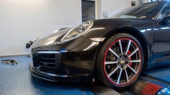 Totalcar Erőmérő: Porsche 911 Cabrio 3.4