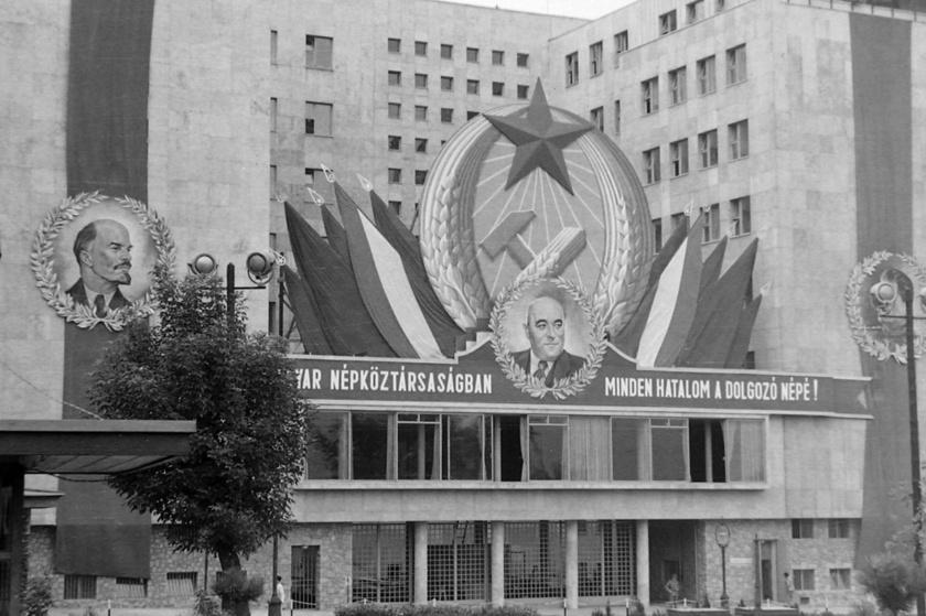 A Belügyminisztérium egykori épülete a Jászai Mari téren