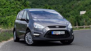 Használtteszt: Ford S-Max 1,6 TDCi Trend - 2015.