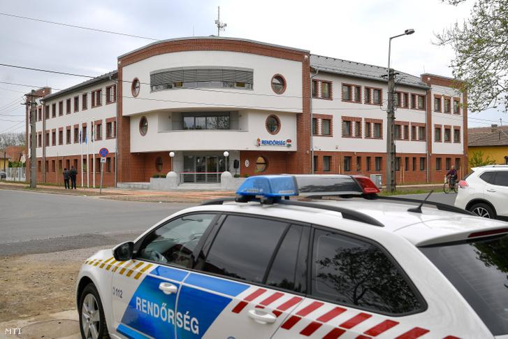 A városi rendőrkapitányság épülete Karcagon