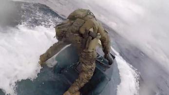 Drogcsempész tengeralattjáróra csapott le az amerikai parti őrség