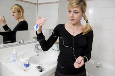 Inzulinpumpa, használat