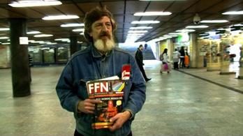 Egy hajléktalan a minisztériumban