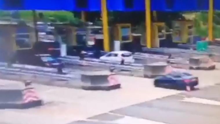 150-nel csapódott a magyarok kocsijába a telefonáló, horvát BMW-s