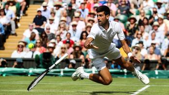 Djokovic hatodszor döntős Wimbledonban, Babosék párosa kiesett