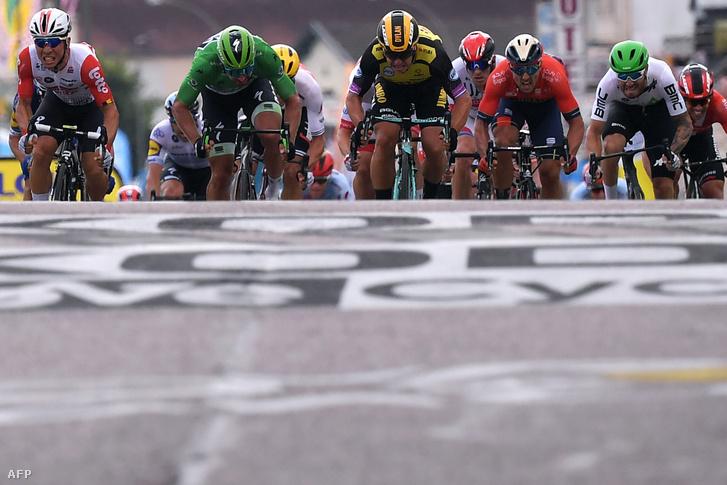 A Tour de France hetedik szakaszának befutója