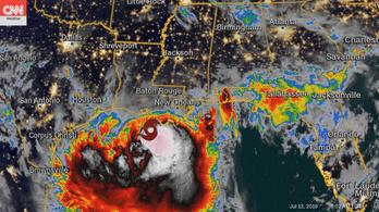 Vészesen közelít a vihar New Orleans felé