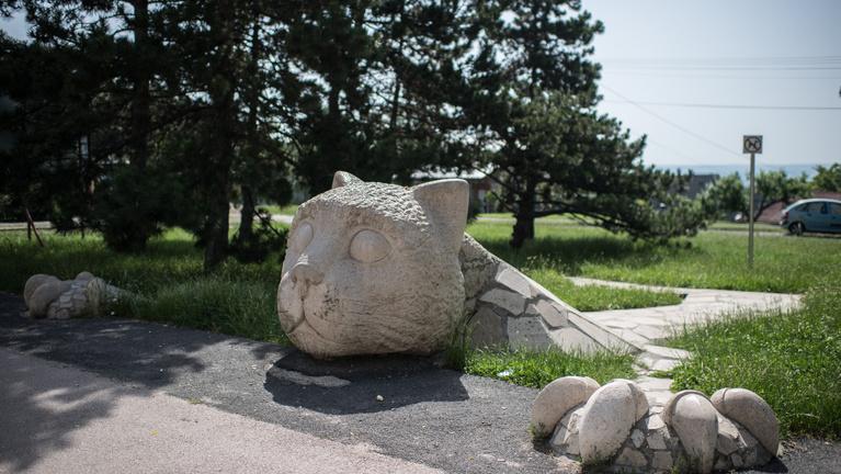 Igazságot a várpalotai Kőmacskának!