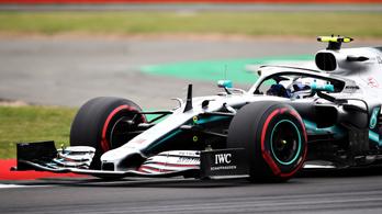 Bottas 6 ezreddel vitte el Hamilton elől a Brit GP pole-ját