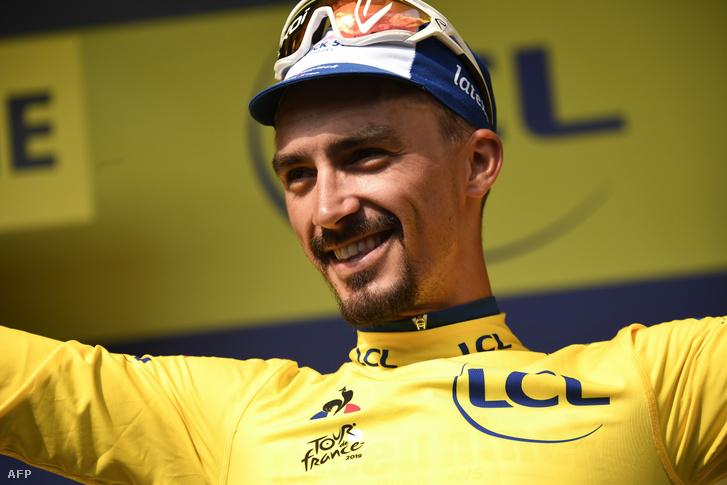 Julian Alaphilippe visszaszerezte a sárga trikót a Tour de France-on