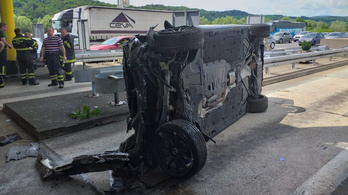 Mégis letartóztatta a horvát rendőrség a súlyos balesetet okozó BMW sofőrjét