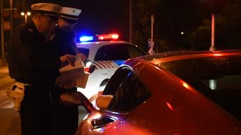 Illegális gyorsulási versenyekre vadászott péntek este a BRFK