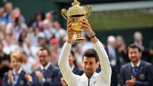 Djokovics drámai meccsen győzte le Federert, ötödik Wimbledonját nyerte