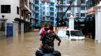 Már legalább 65 ember meghalt a monszun miatt Nepálban