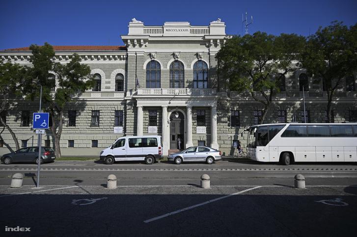Szegedi Fegyház és Börtön, ahonnan H. Dezső hétfőn hajnalban szabadult