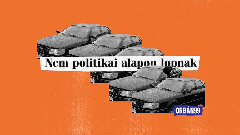 Sorozatban lopták és rabolták az Orbán-kormány Audijait, Passatjait