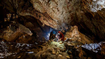 Dripstone cave in Hungary hides ancient treasures