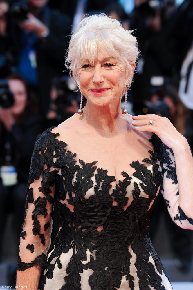 Helen MirrenA csinos színésznő már 73 éves, de nem bánja, hogy nem szült