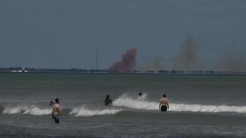 Kiderült, miért robbant fel áprilisban a SpaceX űrhajója