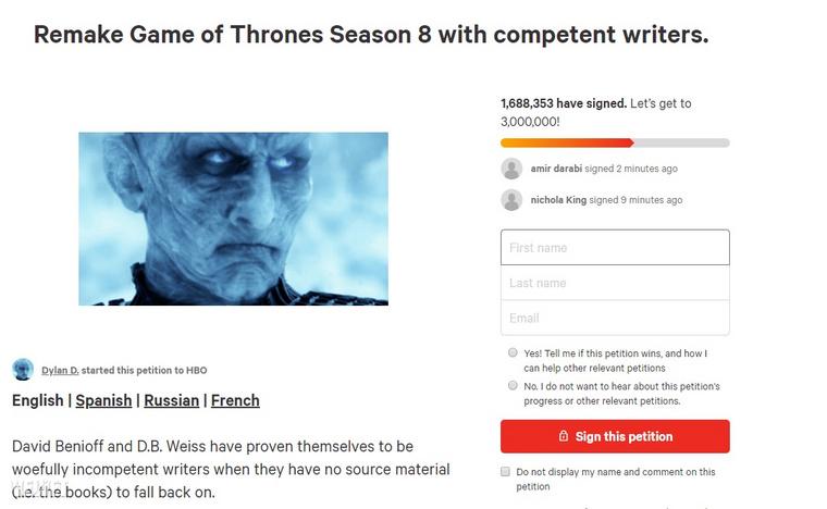 A petíció