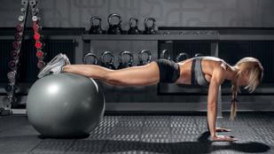 Core-edzés kezdőknek és profiknak: elő a fitlabdát!
