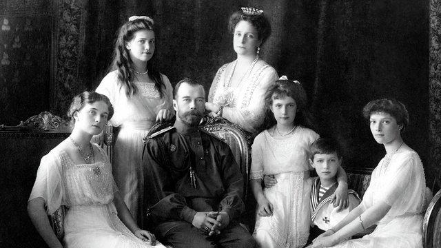 A cári család legyilkolása