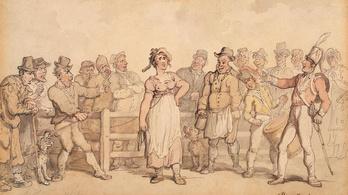 Az angol férfiak egészen az 1900-as évekig eladhatták a feleségüket a piacon