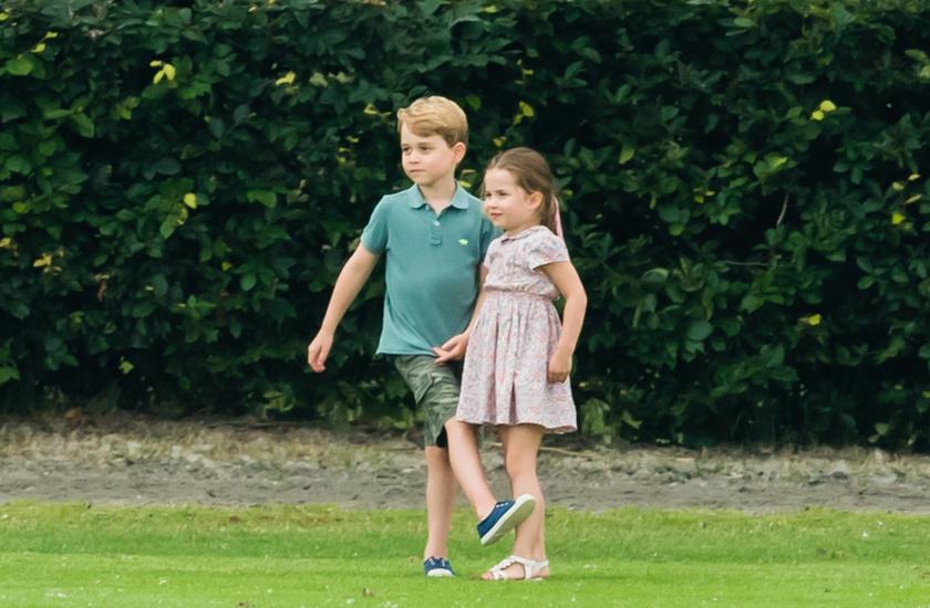 Az már korábban is kiderült, hogy György és Charlotte is szeretnek a szabadban lenni.