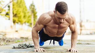 Lehet izmosodni csak saját testsúlyos edzéssel?