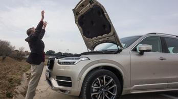Félmillió autót hív vissza a Volvo