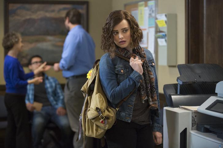 Katherine Langford a sorozatban, Hannah Baker szerepében